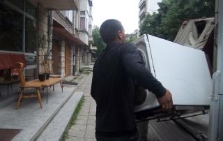 извозване на стари мебели и електроуреди