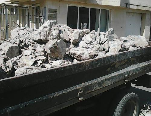 Къде можете да хвърлите развалините след строителни работи?